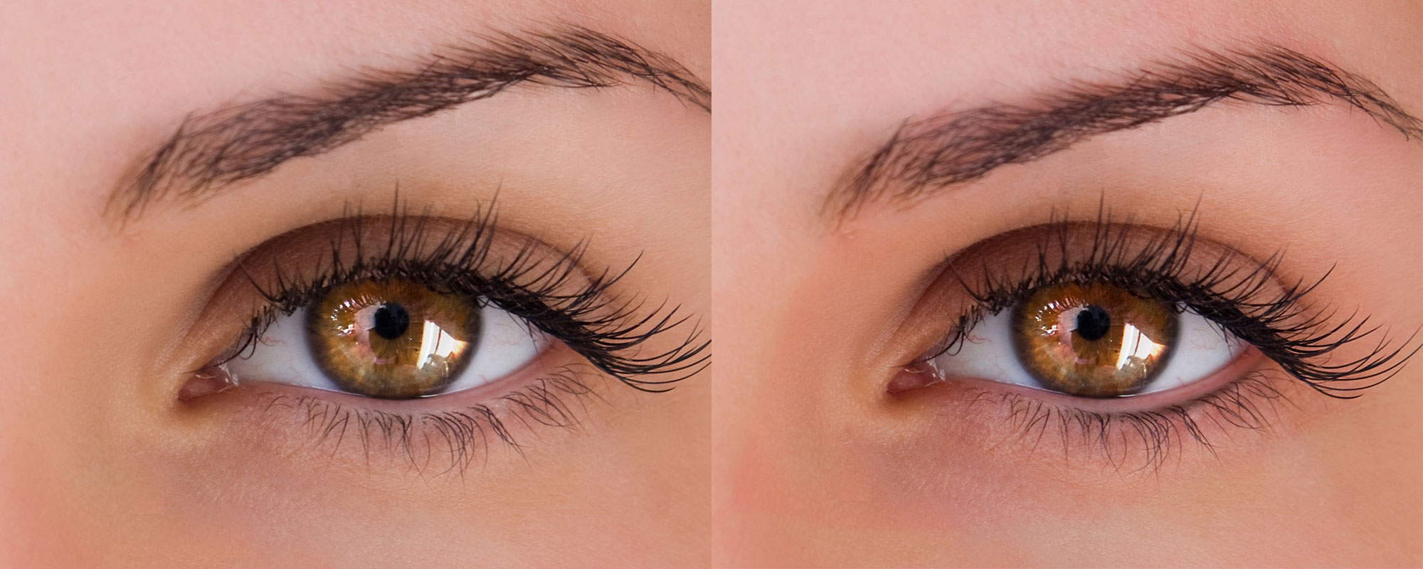 Maquillage permanent yeux avant-apres